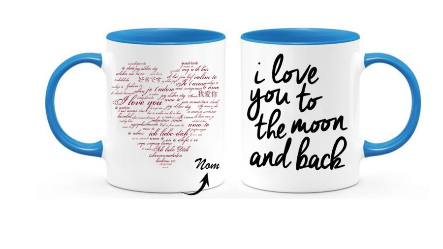 MOON AND BACK CUP