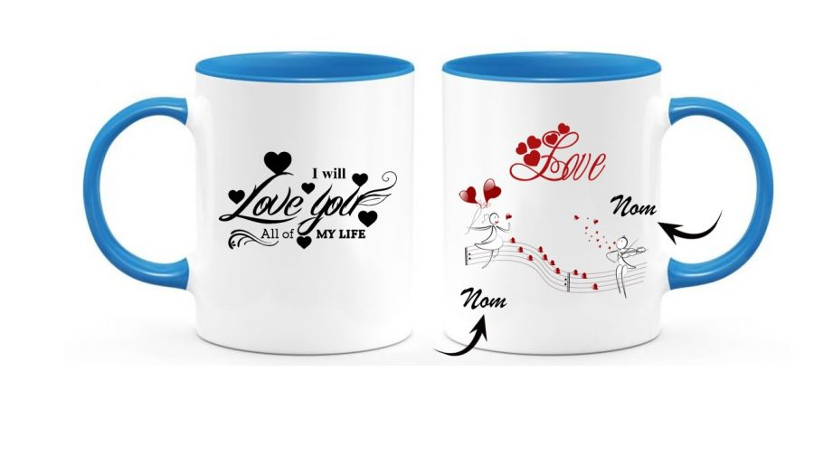 Beautiful cup for girl